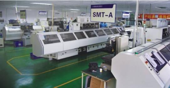 晶振厂家生产设备