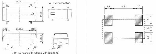 cm200c晶振,陶瓷面进口石英晶体谐振器,32.768k无源