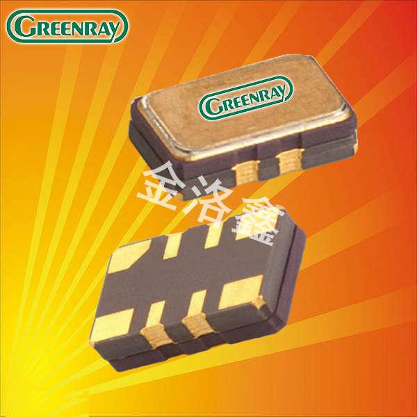 Greenray晶振,温补晶振,T52晶振