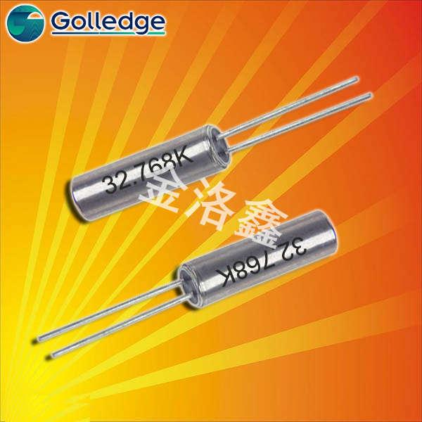Golledge晶振,石英晶振,GDX-1晶振,圆柱晶振