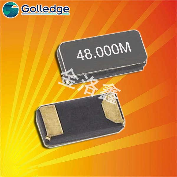 Golledge晶振,贴片晶振,CC7A晶振,无源晶振