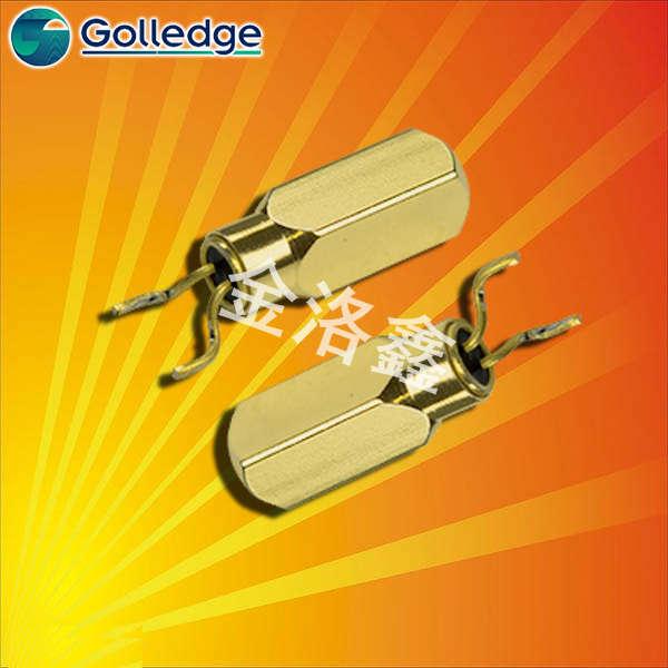 Golledge晶振,弯脚插件晶体,MS3V晶振