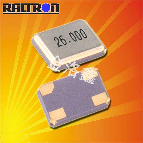 Raltron晶振,贴片晶振,H10S晶振,石英无源晶振