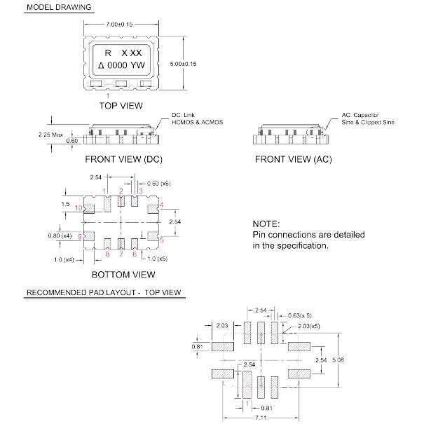 瑞康晶振,压控温补晶体振荡器,cfpt9000晶振