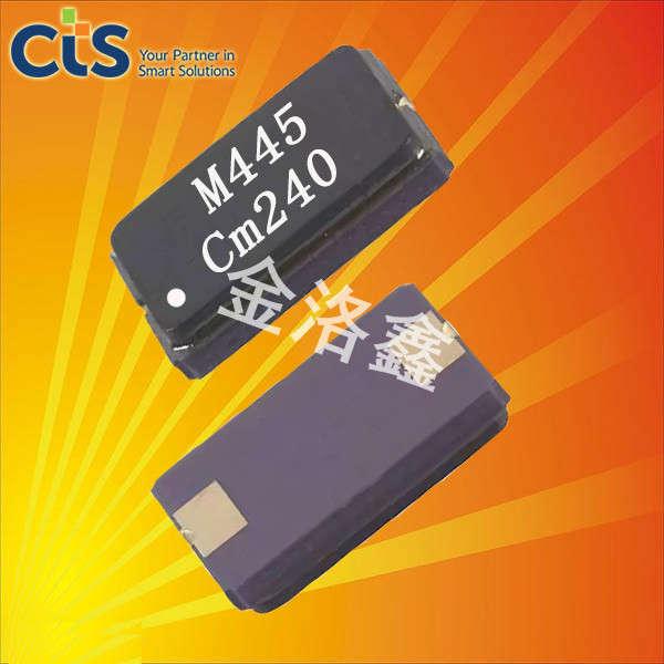 CTS晶振,压电石英晶体,445晶振