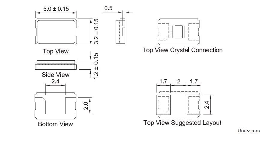 TXC晶振,贴片晶振,7A晶振