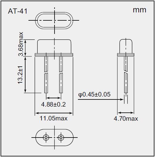 NDK晶振,石英晶振,AT-41晶振