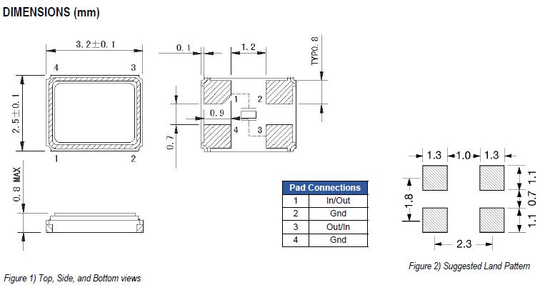 ECS晶体,贴片晶振,ECX-32晶振