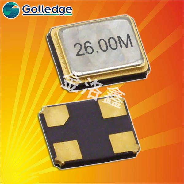 Golledge晶振,贴片晶振,GSX-338晶振,3225晶振
