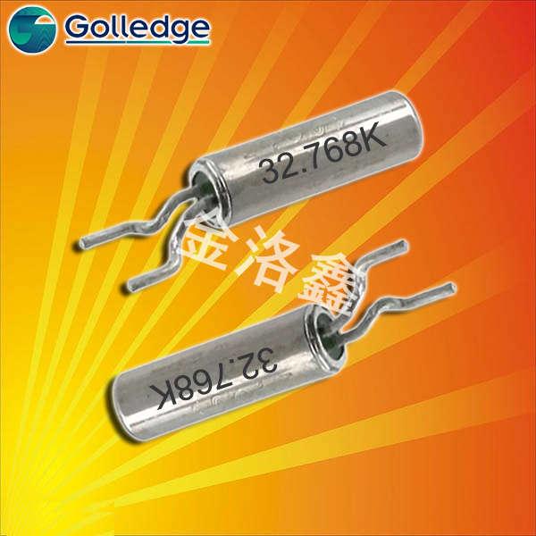 Golledge晶振,石英晶振,GSWX-26晶振,圆柱音叉晶振