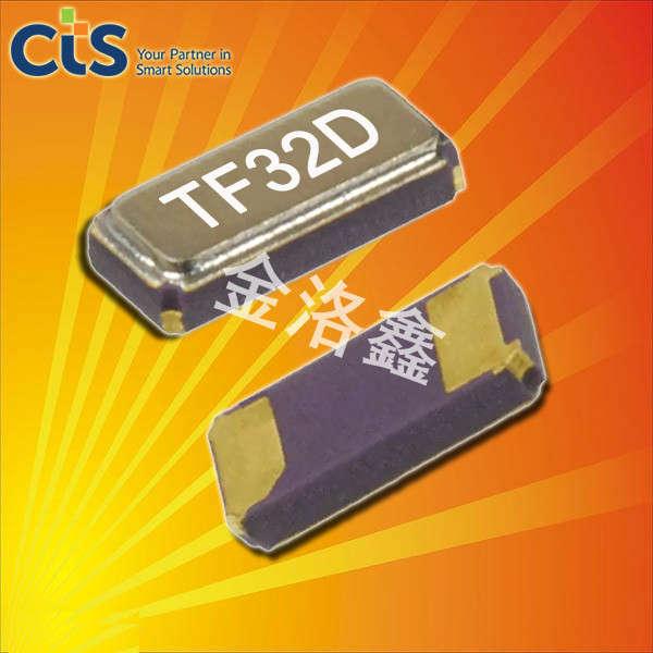 CTS晶振,贴片晶振,TF32晶振,无源贴片晶振