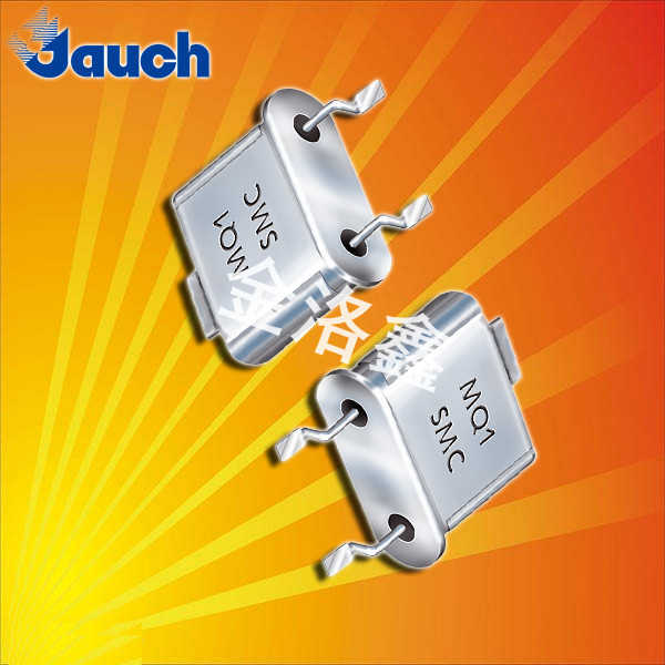 Jauch晶振,石英晶振,MQ5-SMC晶振,弯脚石英晶振