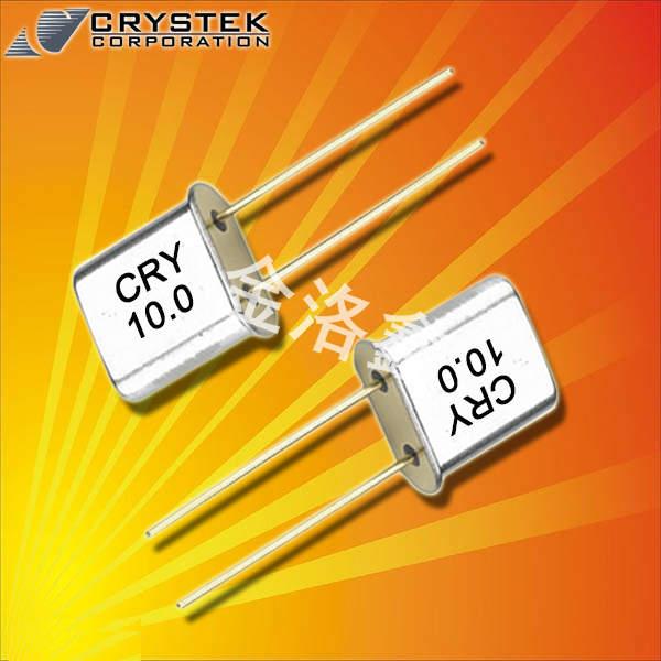 Crystek晶振,石英晶振,CRMxx晶振,插件晶振
