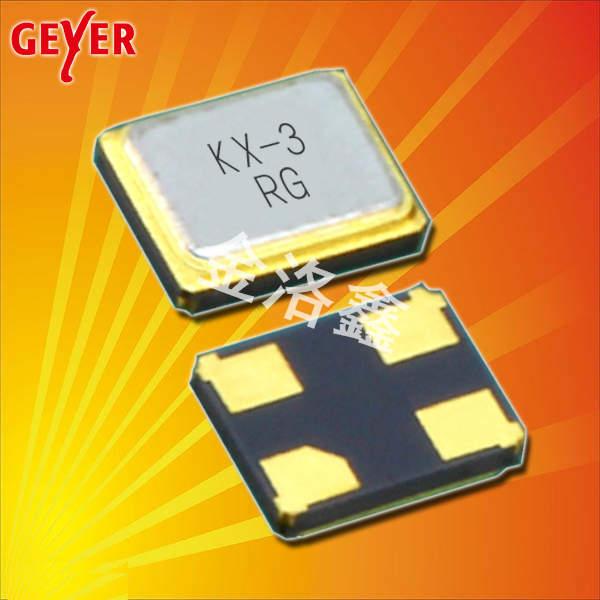 GEYER晶振,贴片晶振,KX-3T晶振,进口无源晶振