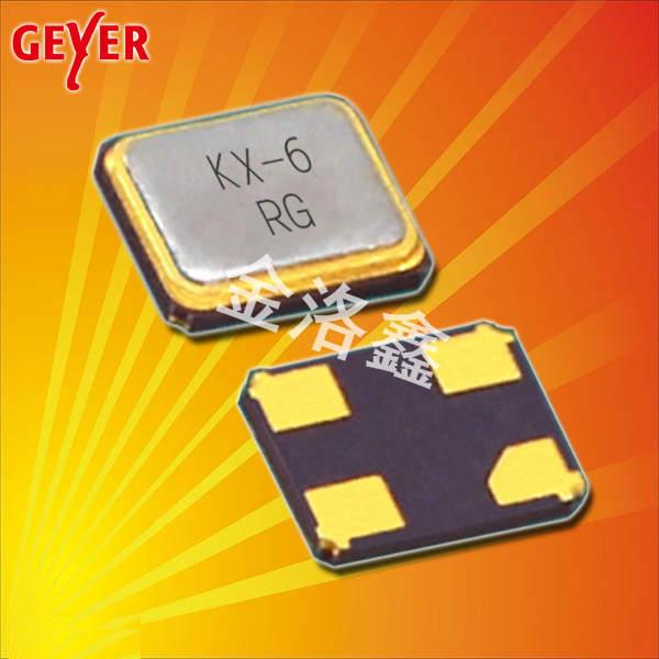 GEYER晶振,贴片晶振,KX-6晶振,贴片无源晶振