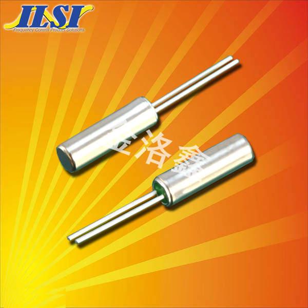 ILSI晶振,石英晶振,39晶振,圆柱晶振