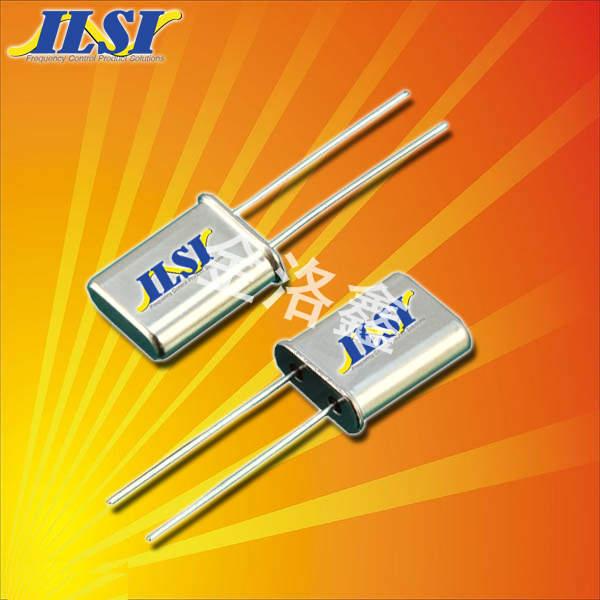 ILSI晶振,石英晶振,HC49U晶振,插件无源晶振