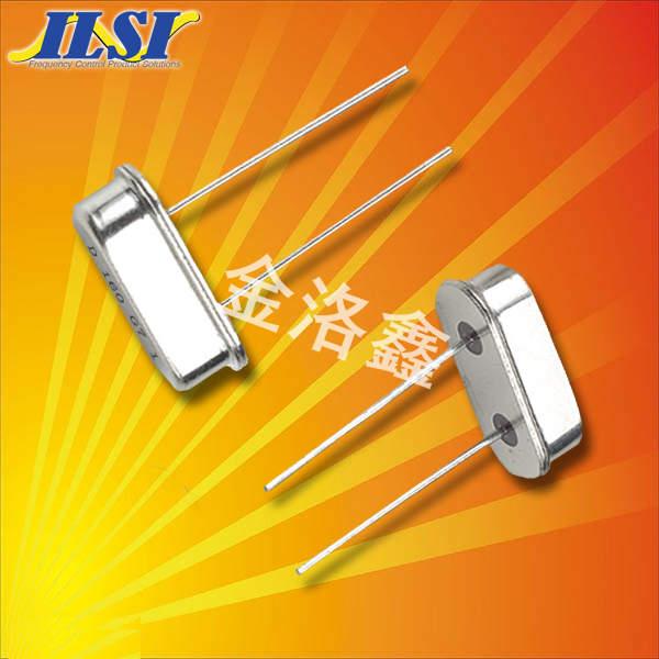 ILSI晶振,石英晶振,HC49US晶振,插件进口晶振