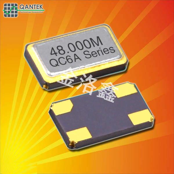 QANTEK晶振,贴片晶振,QC6A晶振,石英无源晶振