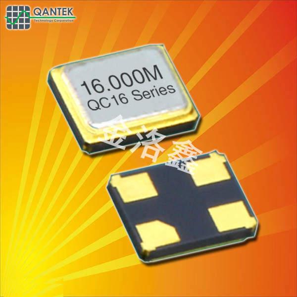 QANTEK晶振,贴片晶振,QC16晶振,无源SMD晶振